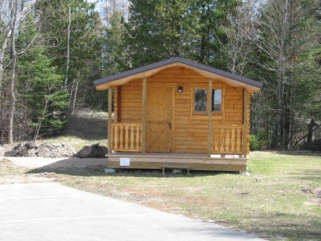 Cabin-1 exterior