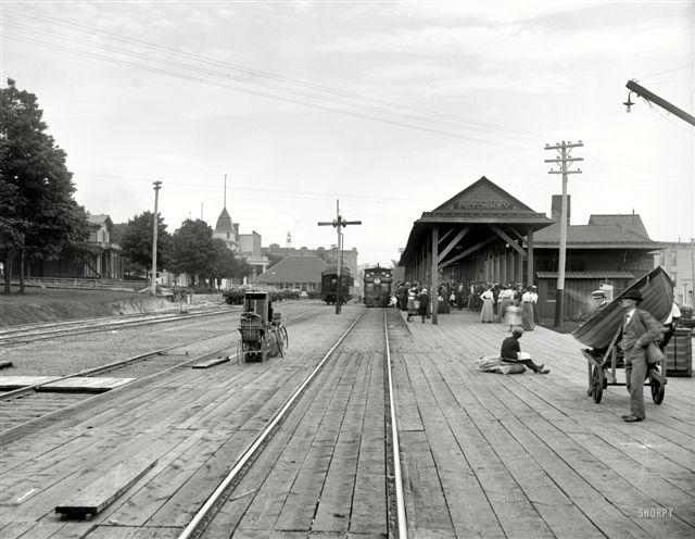 Bayfront Park trackside