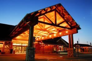 Pellston Airport Entrance