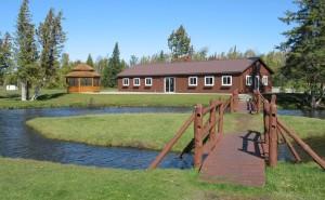 Recreation building at Camp Petosega